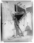 view Hopi Stairway, Village of Walpi digital asset: Hopi Stairway, Village of Walpi