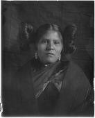 view Hopi Woman Outside Kiva digital asset: Hopi Woman Outside Kiva