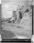 view Hopi Women on Stairs digital asset: Hopi Women on Stairs
