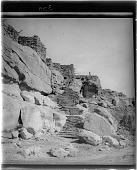 view Cliff Stairway at Mishongovi digital asset: Cliff Stairway at Mishongovi