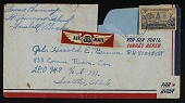 view Corporal Harold E. Brown collection digital asset: Correspondence