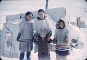 view Four girls (Baffinland Inuit) digital asset: S04859