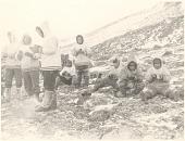 view Seal hunt near Cape Searle, Baffin Island digital asset: P32294