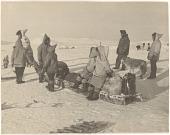 view Seal hunt near Cape Searle, Baffin Island digital asset: P32295
