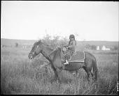 view Child on horseback digital asset: Child on horseback