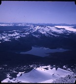 view G. Gage Skinner collection digital asset: Aerial view of Andean volcanoes