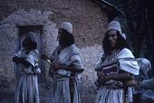 view Ika (Ica/Arhuaco) men holding poporos digital asset: Ika (Ica/Arhuaco) men holding poporos