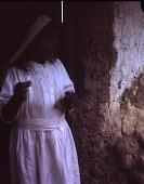 view Ika (Ica/Arhuaco) woman preparing yarn digital asset: Ika (Ica/Arhuaco) woman preparing yarn
