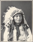 view Sleeping Bear, Sioux, No. 876. digital asset: Sleeping Bear, Sioux, No. 876.