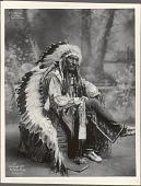 view Little Wound, War Chief, Ogallala Sioux, 102 digital asset: Little Wound, War Chief, Ogallala Sioux, 102