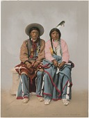 view Pee Viggi and Woman, Utes (Southern), No. 53411 digital asset: Pee Viggi and Woman, Utes (Southern), No. 53411