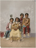 view Group of Children, Utes, No. 53410 digital asset: Group of Children, Utes, No. 53410