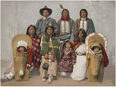 view Chief Sevara and family, Utes, No. 53408 digital asset: Chief Sevara and family, Utes, No. 53408