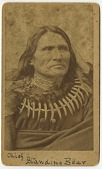 view Portrait of Chief Standing Bear digital asset: Portrait of Chief Standing Bear