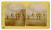 view Stereograph of Carlisle Indian School students digital asset: Stereograph of Carlisle Indian School students