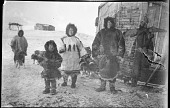view Yuit (Siberian Yup'ik) Family with Dogs digital asset: Yuit (Siberian Yup'ik) Family with Dogs