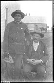 view John H. Waugh and Walking Soldier (Sicangu Lakota [Rosebud Sioux]) digital asset: John H. Waugh and Walking Soldier (Sicangu Lakota [Rosebud Sioux])