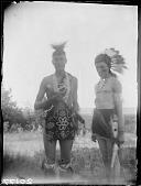 view Two Wahpetonwan Dakota men digital asset: Two Wahpetonwan Dakota men