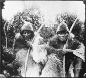 """view E. Lucas Bridges photographs from Tierra del Fuego digital asset: """"Kautempklh and Paloa, northern men"""""""