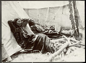 view Two Sioux Wild West performers relaxing digital asset: Two Sioux Wild West performers relaxing