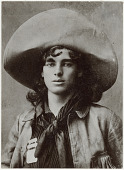 view Portrait photograph of Wild West performer and son of Trapper John Nelson digital asset: Portrait photograph of Wild West performer and son of Trapper John Nelson