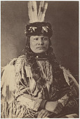 view Arthur Billings Hunt photograph collection digital asset: Brave Bear [Hunkpapa Lakota (Hunkpapa Sioux)]