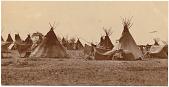 view Unidentified Sioux village digital asset: Unidentified Sioux village