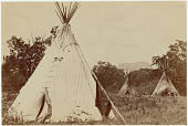 view Plains Apache (Kiowa Apache) Chief Pacer (Peso) encampment digital asset: Plains Apache (Kiowa Apache) Chief Pacer (Peso) encampment