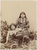 view Two unidentified Wichita girls digital asset: Two unidentified Wichita girls