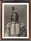 view James Schoolcraft Sherman's photograph of Chief Red Cloud digital asset: James Schoolcraft Sherman's photograph of Chief Red Cloud