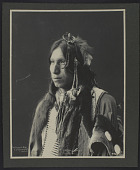 view Frank A. Rinehart and Roland W. Reed photograph collection digital asset: Peter Iron Shell, Sioux, No. 878