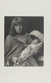 view Havasupai Mother and Child, Arizona digital asset: Havasupai Mother and Child, Arizona