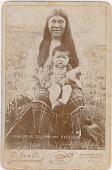 view Unidentified Niuam (Comanche) woman and child digital asset: Unidentified Niuam (Comanche) woman and child