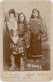 view Unidentified Kiowa girls and child digital asset: Unidentified Kiowa girls and child