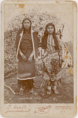 view Unidentified Niuam (Comanche) girls digital asset: Unidentified Niuam (Comanche) girls