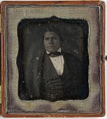 view Daguerreotype of Peter Wilson digital asset: Daguerreotype of Peter Wilson