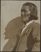view 2014.0023- Hopi Chief, Buffalo Dancer, and unidentified man photographs digital asset: 2014.0023- Hopi Chief, Buffalo Dancer, and unidentified man photographs