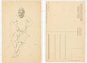 view Portrait Drawing of Angolan man by Eduardo Malta digital asset: [Portrait Drawing]