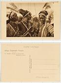 view 34. Tchad Bororos en Costume de Fête digital asset: 34. Tchad Bororos en Costume de Fête