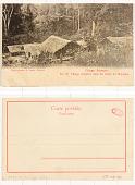 view Congo Français No. 10. Village indigène dans les forêts du Majumbe digital asset: Congo Français No. 10. Village indigène dans les forêts du Majumbe