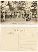 view 74. Brazzaville Un Tam-Tam; scene de la danse digital asset: 74. Brazzaville Un Tam-Tam; scene de la danse