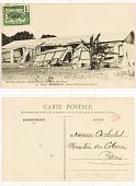 view 90. Congo Brazzavile: Maisons détruites par un cyclone digital asset: 90. Congo Brazzavile: Maisons détruites par un cyclone