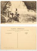 view 134. Moyen-Congo Chute de la Foulakary digital asset: 134. Moyen-Congo Chute de la Foulakary