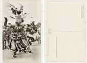 view 19. Mweka (Congo Belge) Notable Bakuba dansant digital asset: 19. Mweka (Congo Belge) Notable Bakuba dansant