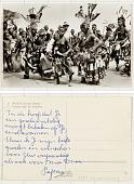 view 21. Mweka (Congo Belge) Danses chez les Bakubas digital asset: 21. Mweka (Congo Belge) Danses chez les Bakubas