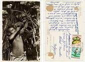 view 75. Congo Belge Pygmée à la chasse digital asset: 75. Congo Belge Pygmée à la chasse