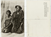 view Congo Belge Le chef Kinzamba, de la tribe des Baholo et sa femme digital asset: Congo Belge Le chef Kinzamba, de la tribe des Baholo et sa femme