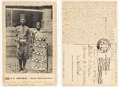 view N⁰ 47. Congo Belge Caporal clairon et sa femme digital asset: N⁰ 47. Congo Belge Caporal clairon et sa femme