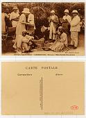 view Afrique Equatoriale Cameroun, Douala, Marchands Haoussas digital asset: Afrique Equatoriale Cameroun, Douala, Marchands Haoussas