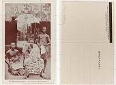 view Een Afrikaansche grootheid De koning van Alada (Dahomey.) digital asset: Een Afrikaansche grootheid De koning van Alada (Dahomey.)